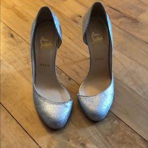 Louboutin SZ 40 Sparkly Heels!